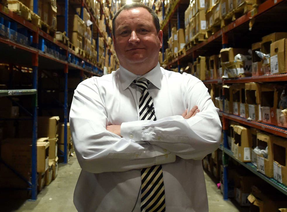 Sports Direct founder Mike Ashley, who appeared in front of a committee of MPs this week to discuss working practices inside his company's warehouses