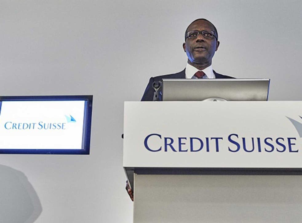 Tidjane Thiam, Credit Suisse CEO, said the bank doesn't condone tax avoidance