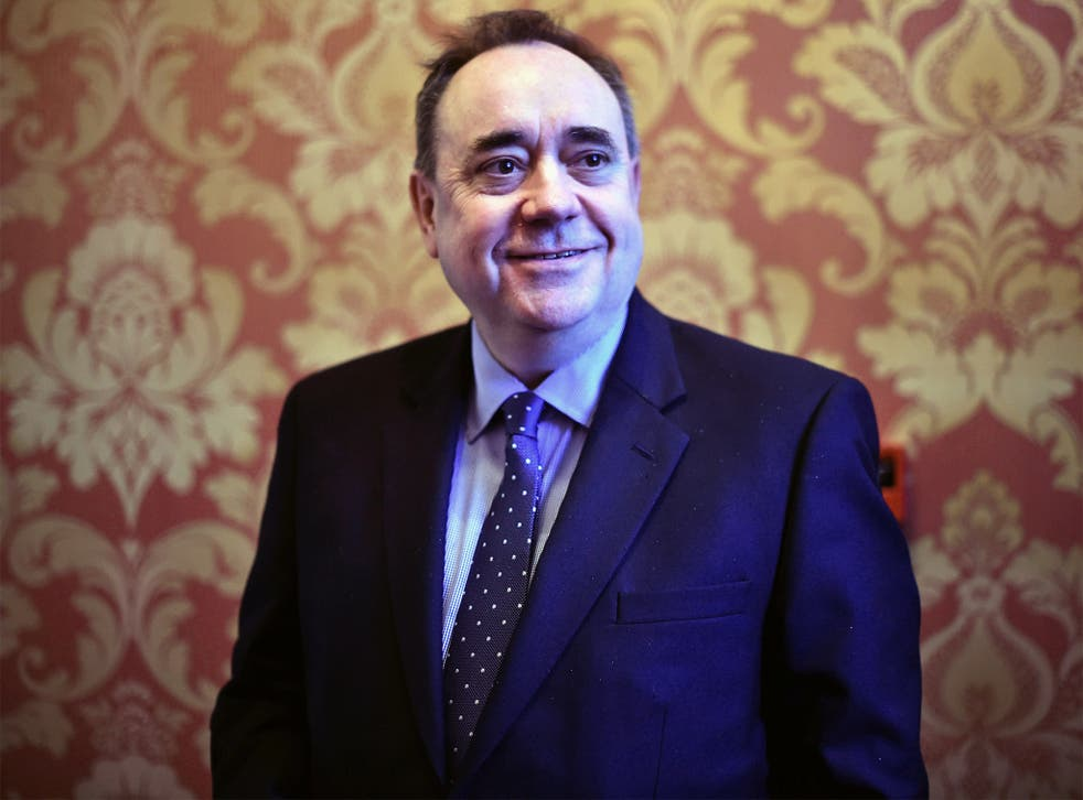 Alex Salmond's newspaper article will break the SNP and Labour silence on 'independence day'