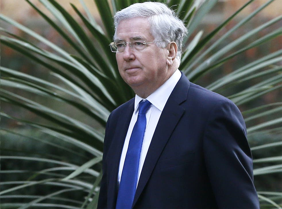 Michael Fallon, Secretary of State for Defence