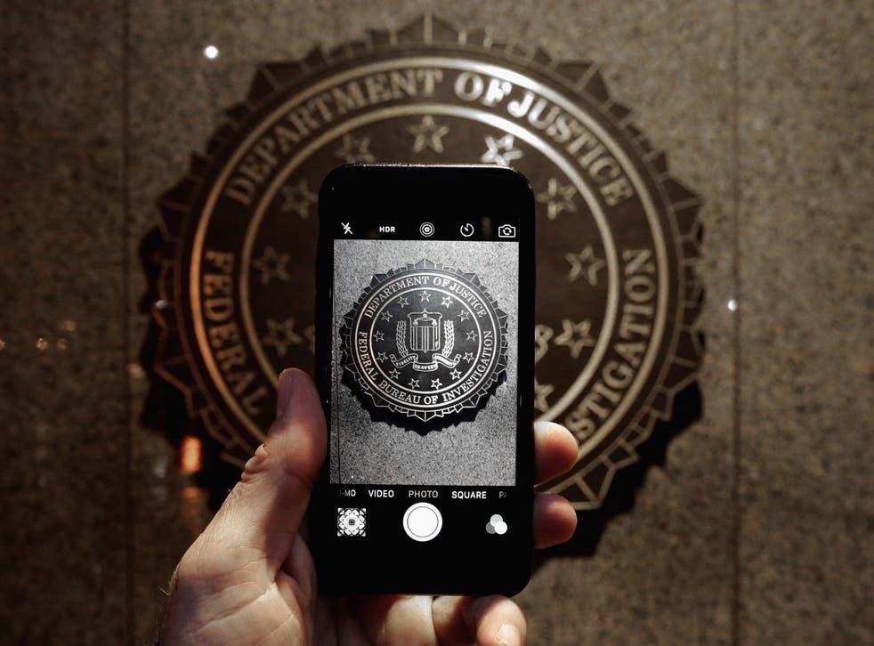 The FBI have unlocked an iPhone belonging to the San Bernardino gunman
