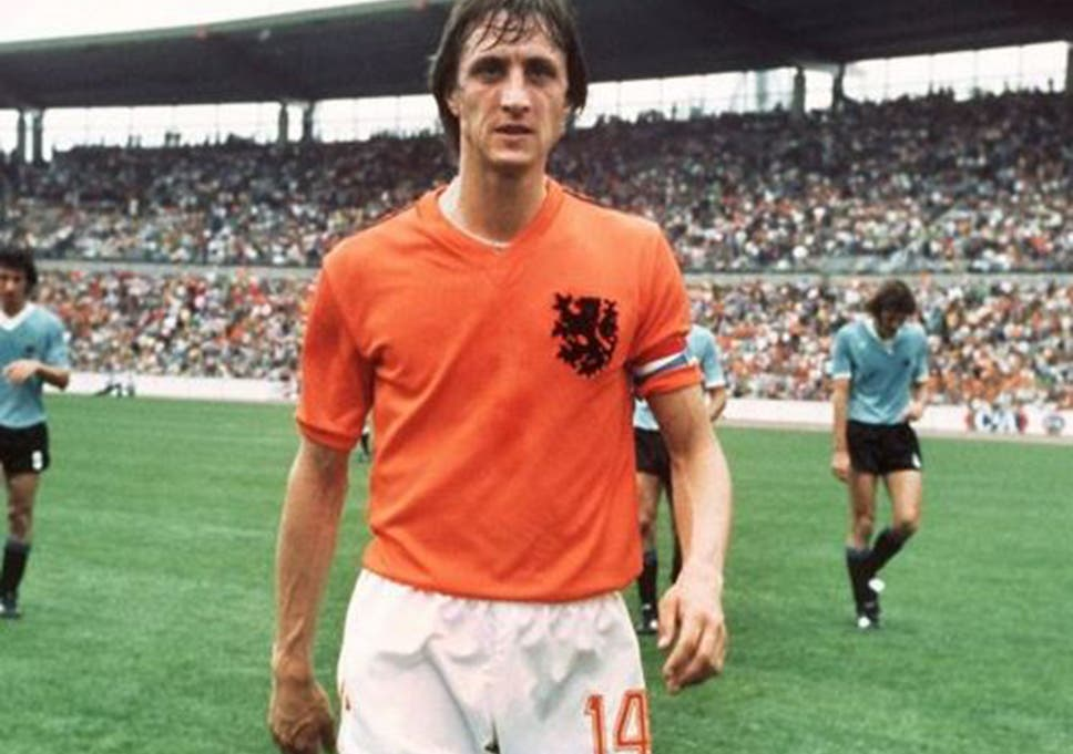 Johan Cruyff  Why the Dutch master wore the famous number 14 shirt ... f6f460552