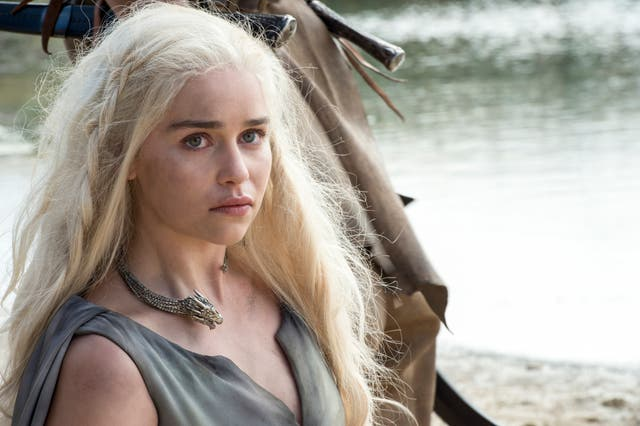 <p>Daenerys in Game of Thrones</p>