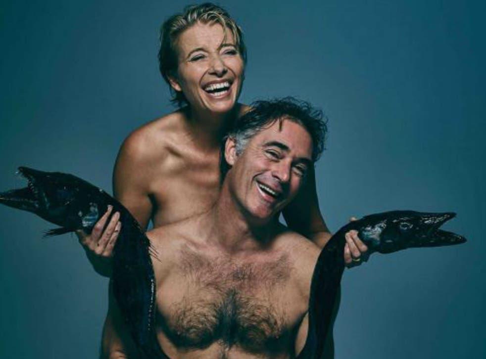 Emma Thompson and Greg Wise  Fishlove/J. Edelstein