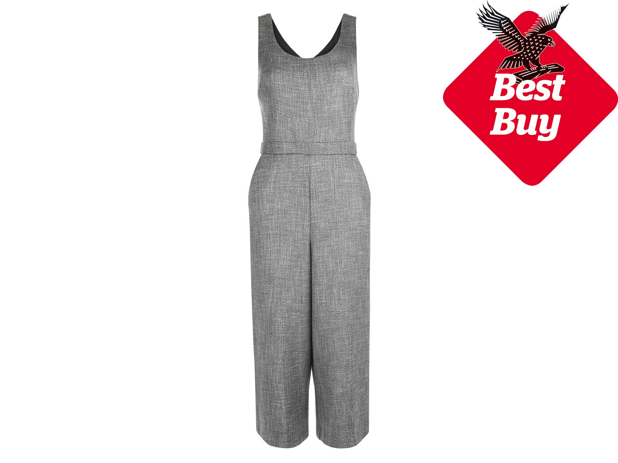 824c519ae33 This is one of the most versatile jumpsuits we ve come across and a  definite wardrobe staple. With a rounded neckline