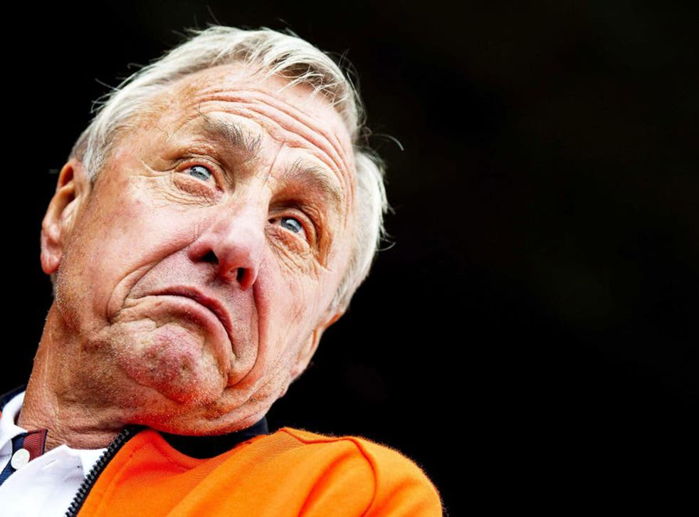 Cruyff: a strong-minded perfectionist, he could be a difficult and demanding coach