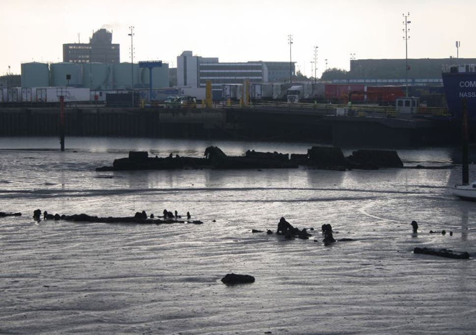 German WWI warships rediscovered in Portsmouth Harbour after lying