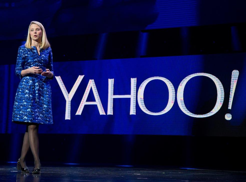 Under pressure from investors: Marissa Mayer