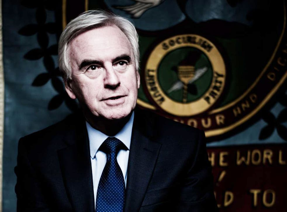 John McDonnell doesn't think the issue is being used as a stick to attack the leadership