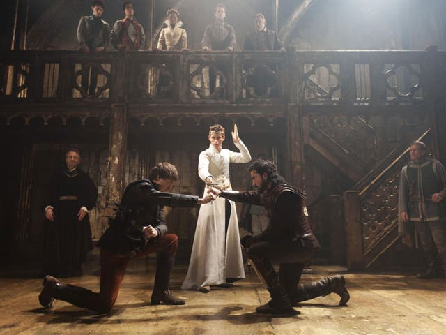 Eddie Redmayne as Richard II at the Donmar in 2011