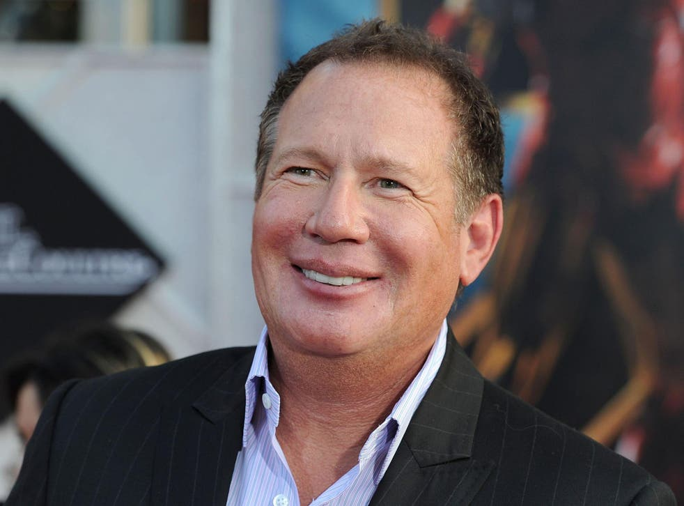 Garry Shandling arriving at the world premiere of  'Iron Man 2' in Hollywood in 2010