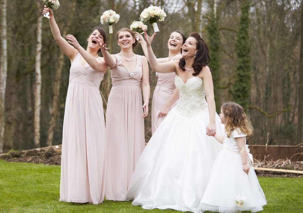 Why do bridesmaids all dress the same? | The Independent