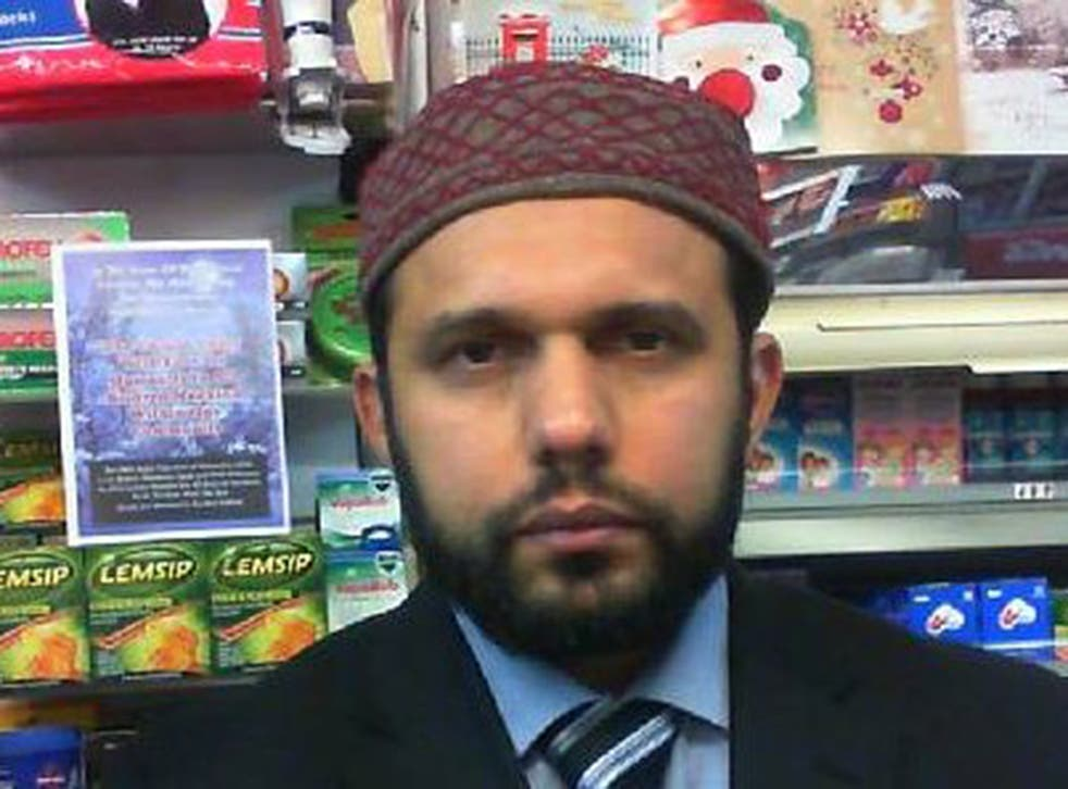 Respected shopkeeper Asad Shah wrote on Facebook: 'To my beloved Christian nation'