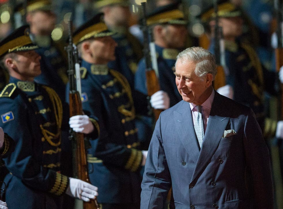 Prince Charles visited Bam in 2004 but the last official royal trip was in 1975