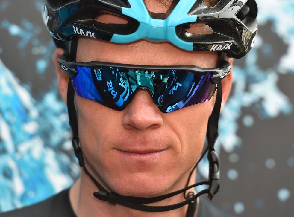 British rider Chris Froome
