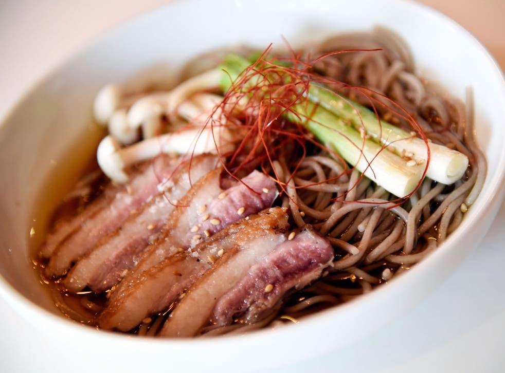 Ramen is a popular food in Japan