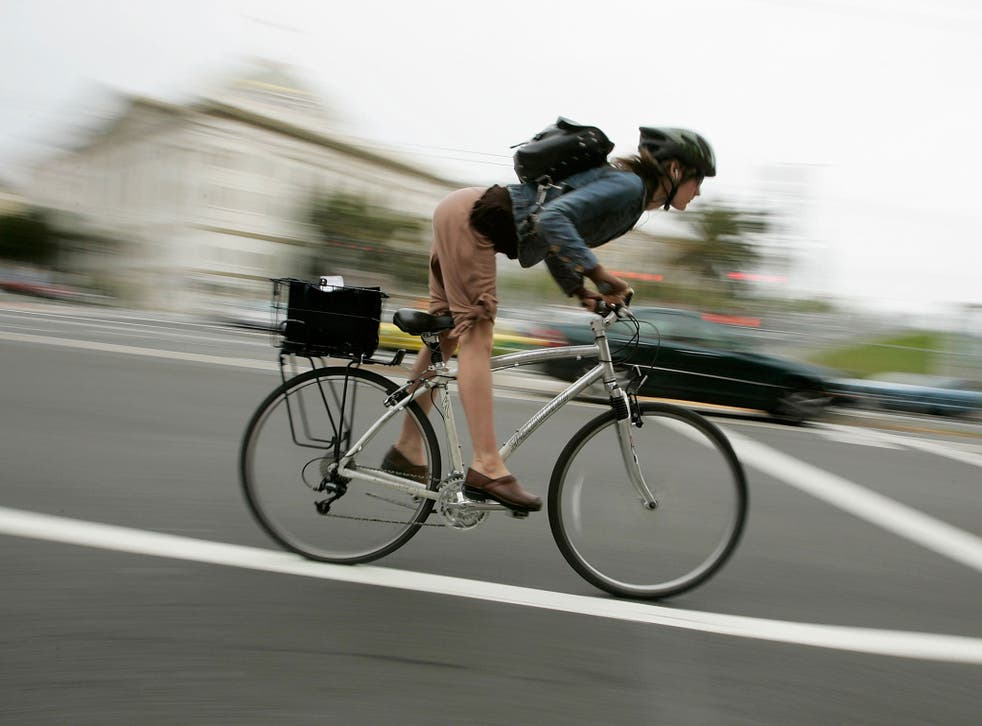 Cyclists need to utilise the cycle paths that have been provided for them