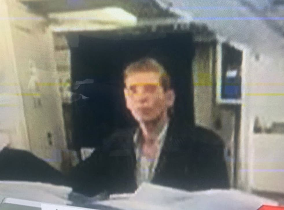 Egyptian state television released a photo claiming to show the hijacker on the plane