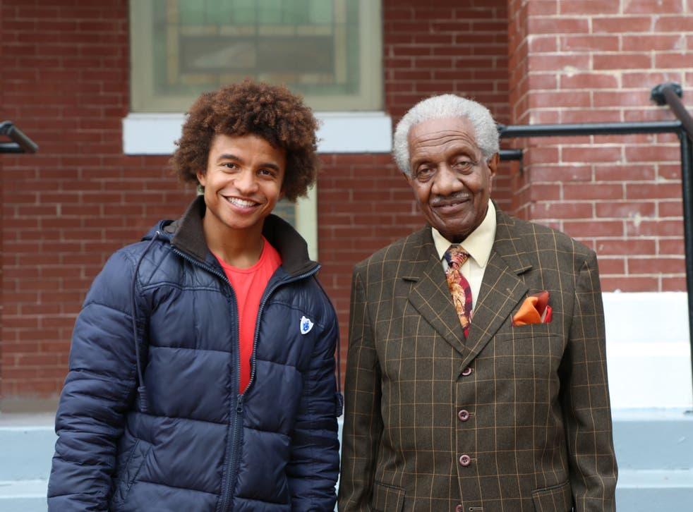 Radzi Chinyanganya and Reverend Fredrick Reese in 'The walk that changed the world'
