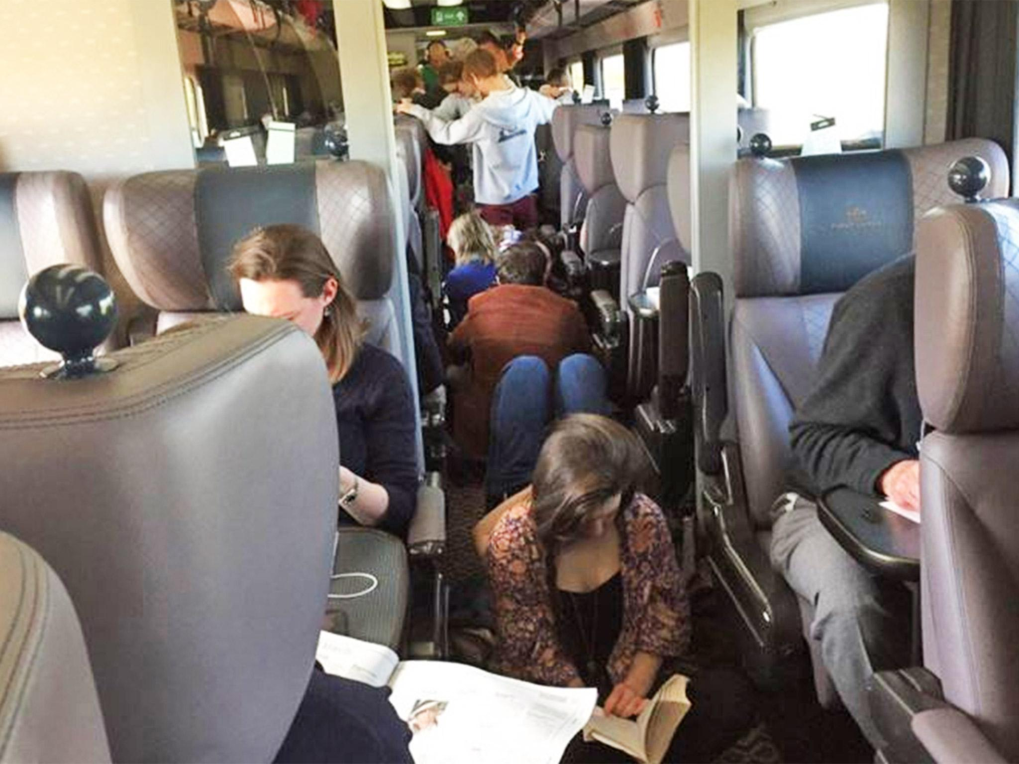Train from hell Easter overcrowding on Great Western Railway s