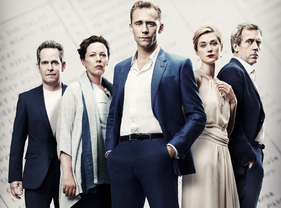 Dragon school alumni: Tom Hallander, left,  Tom Hiddleston, middle, and Hugh Laurie, right