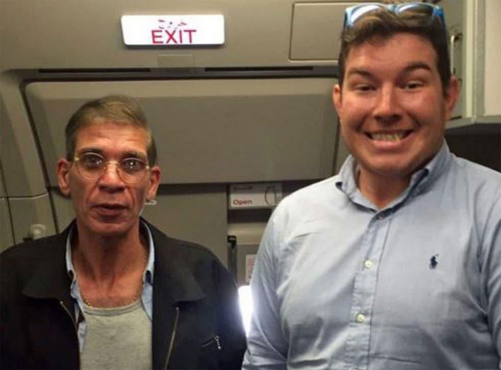 The alleged hijacker, Seif Eldin Mustafa, has since appeared in court in Cyprus
