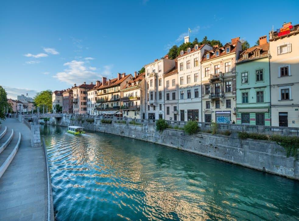 Río Ljubljanica.
