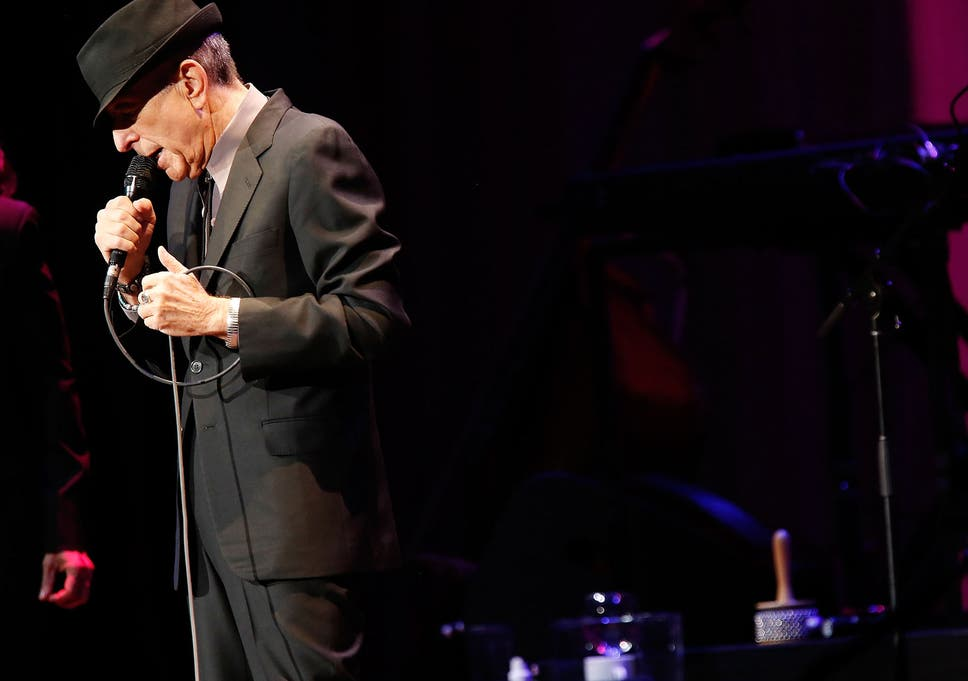 Hallelujah How The Leonard Cohen Song Became A Legend The Independent