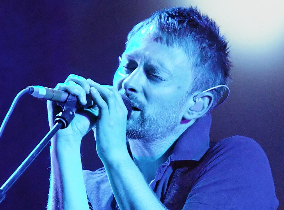 Thom Yorke appears to have had a change of heart about streaming services - or are his hands tied by his record label?