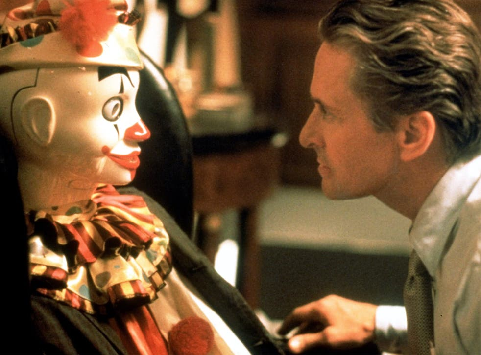 Immersive: Michael Douglas in the 1997 film 'The Game'