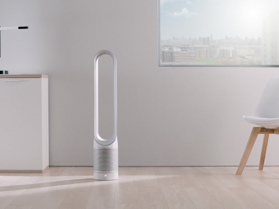 dyson launches pure cool link air purifier a fan that. Black Bedroom Furniture Sets. Home Design Ideas