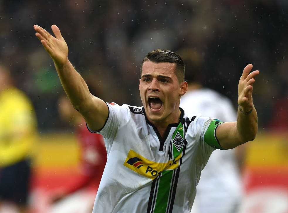 Borussia Monchengladbach midfielder Granit Xhaka