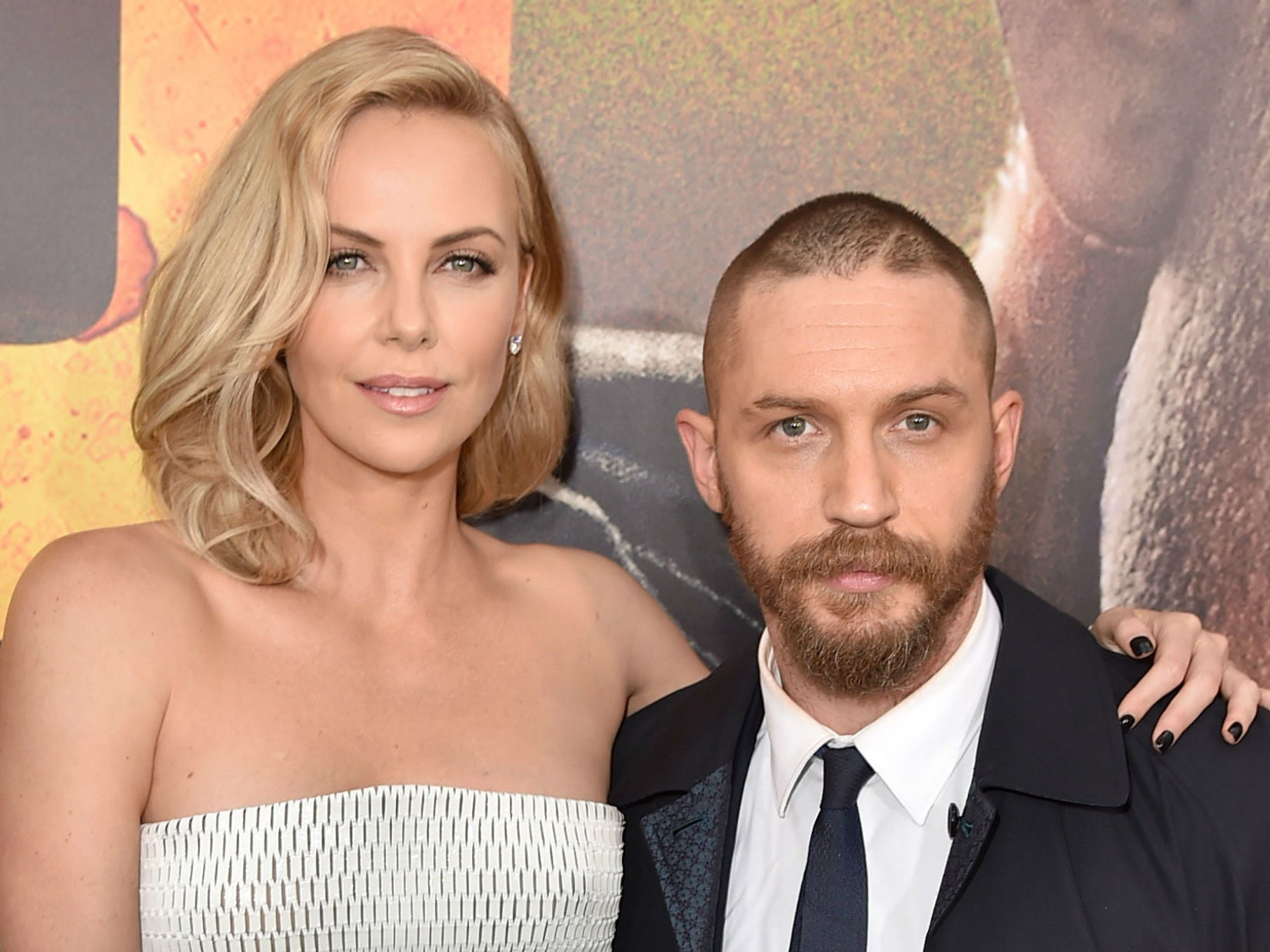 Charlize Theron addresses rumours of rift with Tom Hardy ... Charlize Theron Sean Penn
