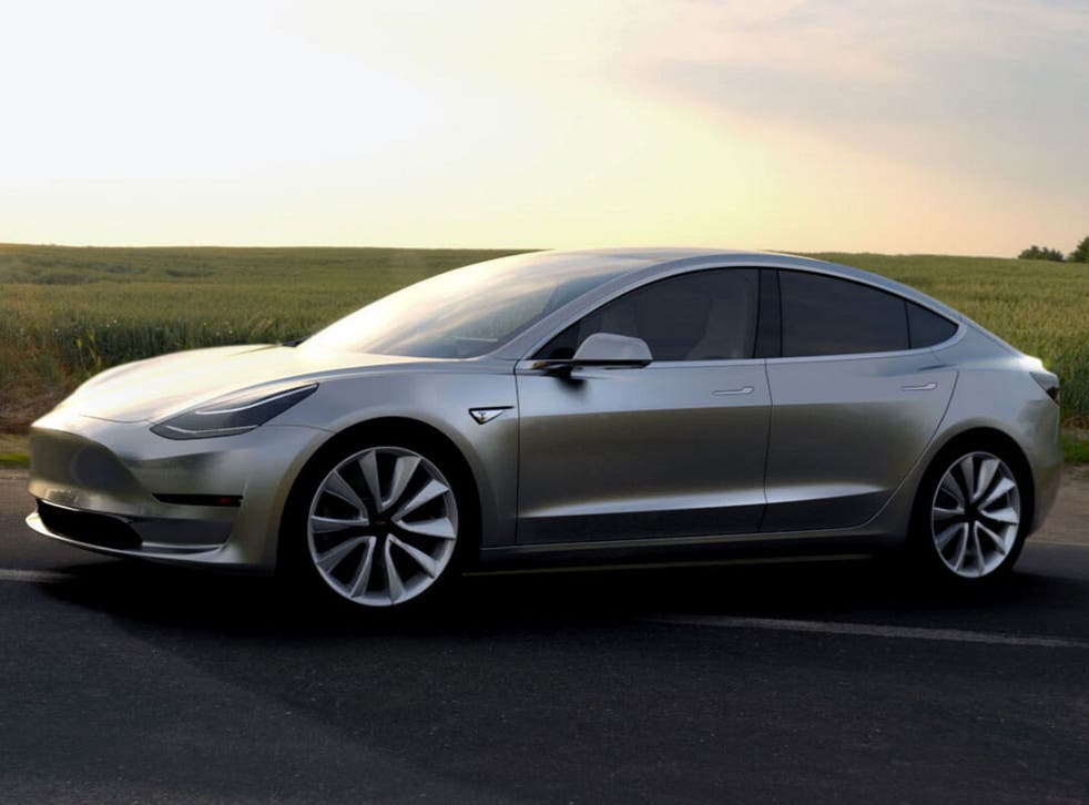 Despite the low price, it still looks as good as Tesla's other cars