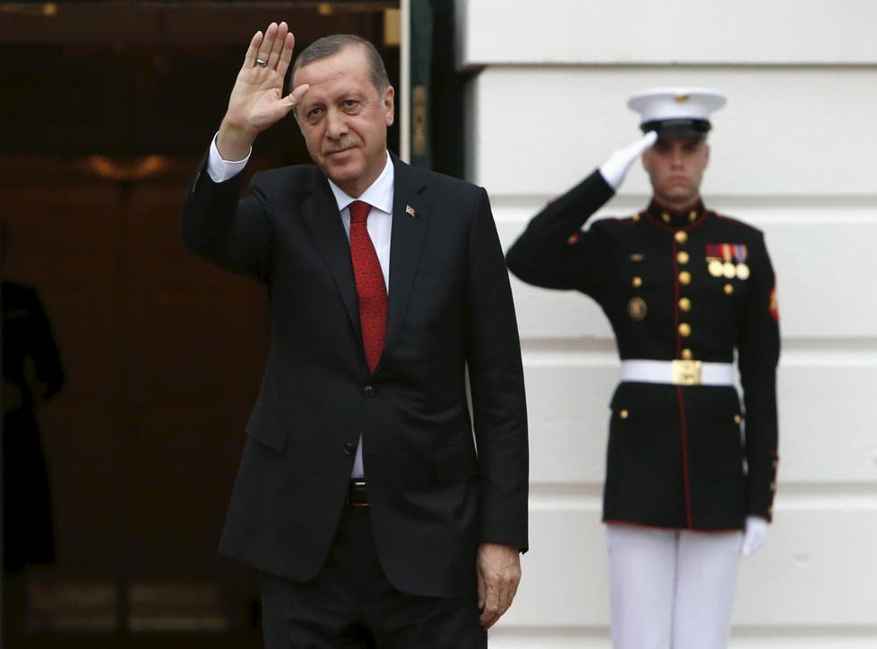 President Recep Tayyip Erdogan in attendance at the Nuclear Security Summit at the White House in Washington last week