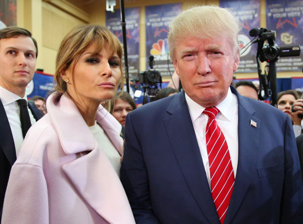 Mr and Mrs 'The Donald'