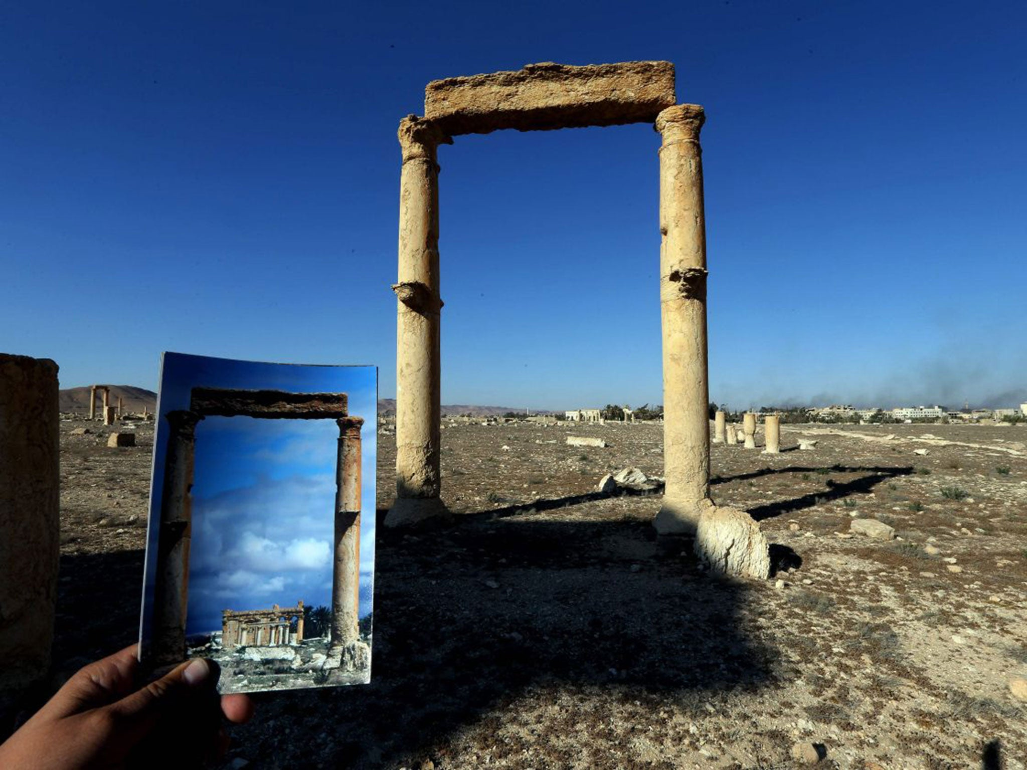 Palmyra: Photographer's powerful before and after photos show ...