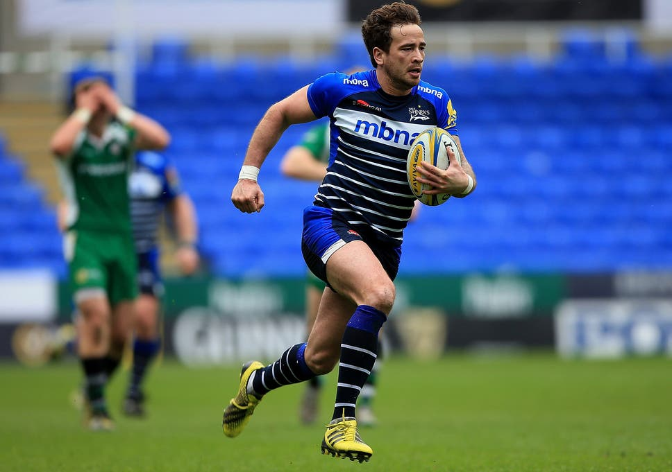 a0af6700568 Danny Cipriani's interception try secured the win for Sale Sharks