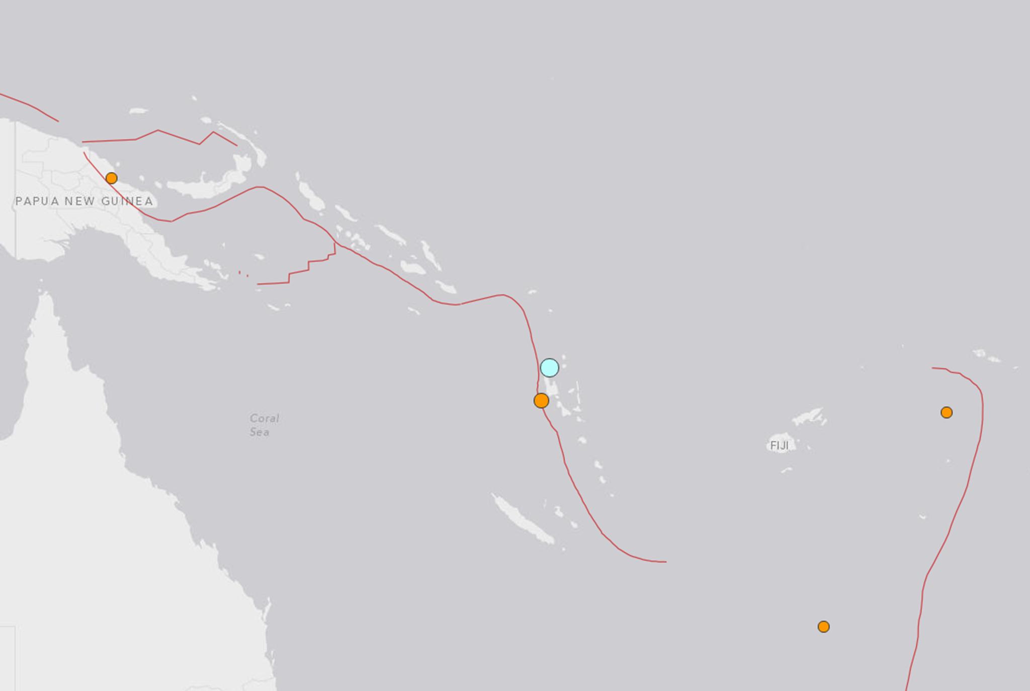 Earthquake today: Tsunami alert off Vanuatu after 7 2 tremor