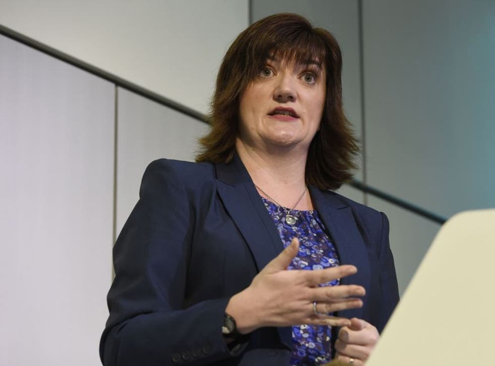 Nicky Morgan has insisted there will be no U-turn over academy plans