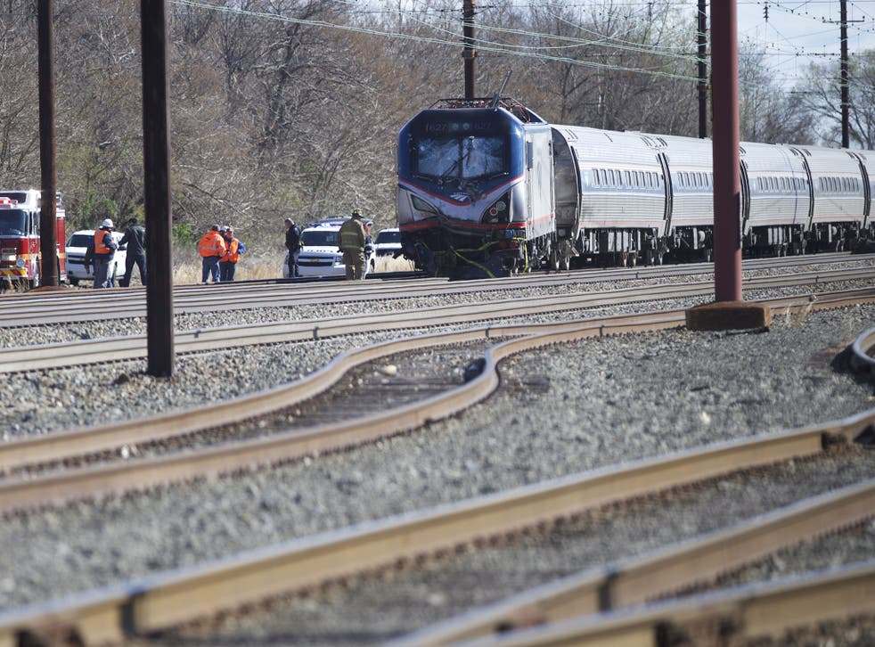 Train 89 was carrying 341 passengers and seven crew