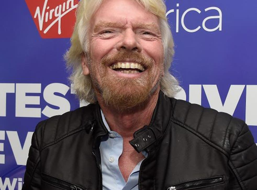 Branson's business empire is valued at around $5-5.5 billion