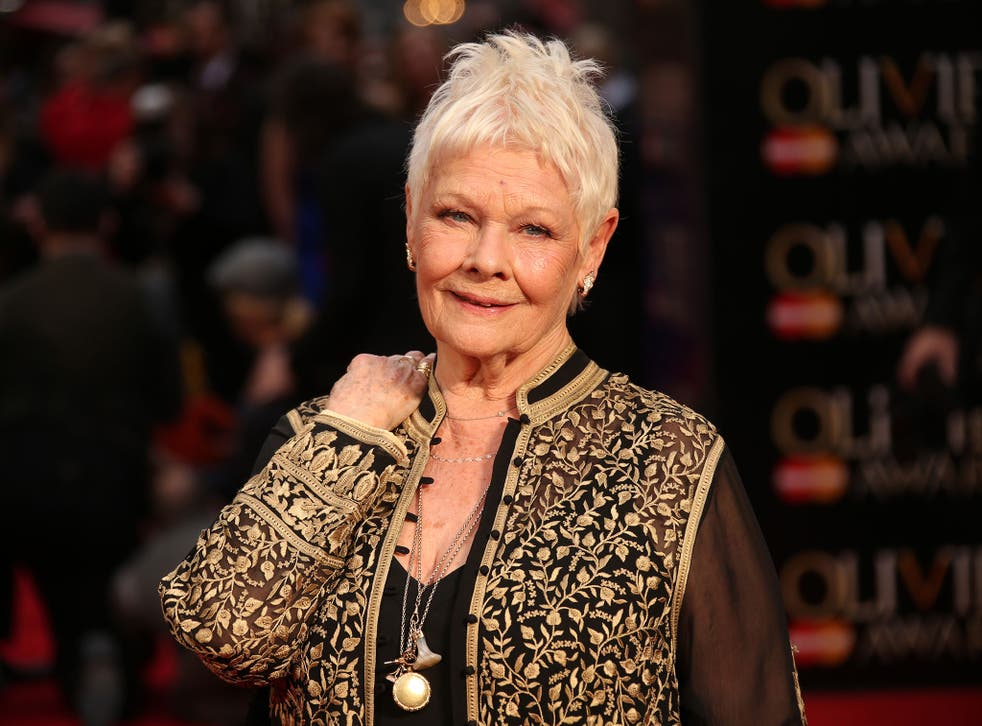 Dame Judi Dench has made theatre history by winning the most awarded actor in Olivier history