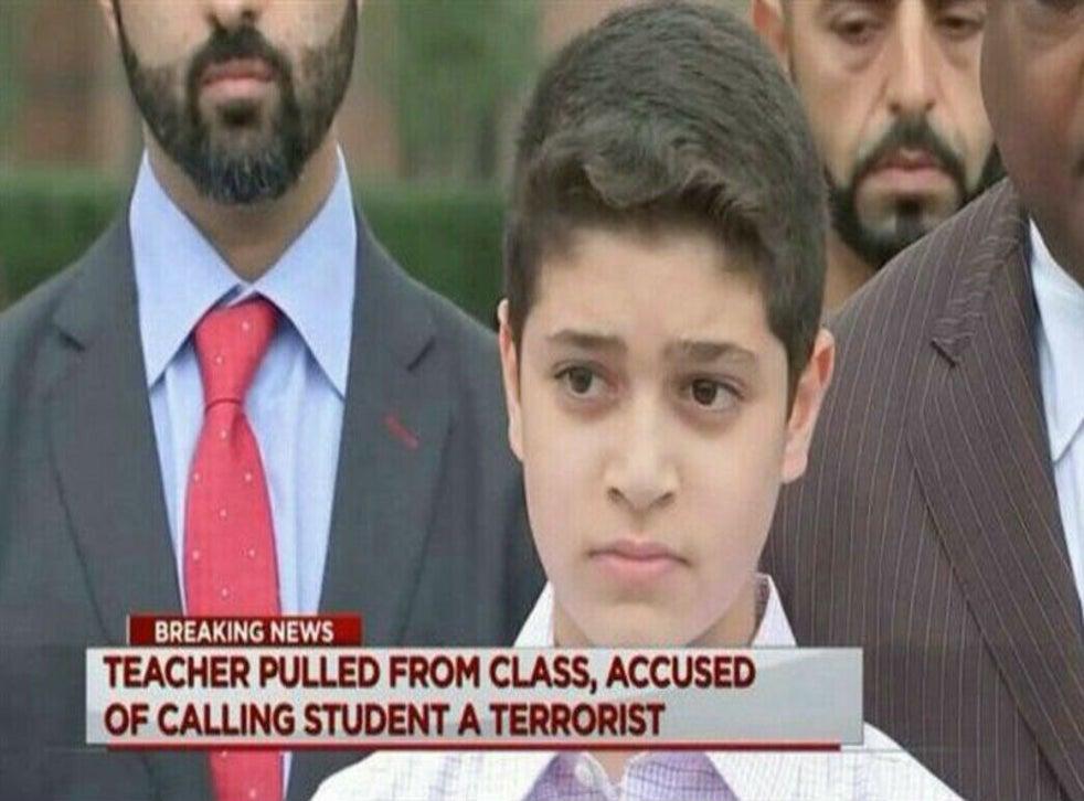 Teacher calls 12-year-old Muslim pupil a 'terrorist' as he ...
