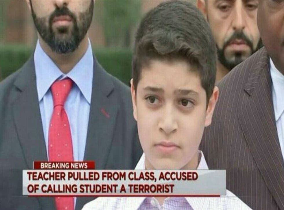 Waleed Abushaaban will remain at the school but his parents want the teacher to be fired