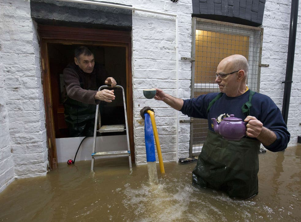 About 500 properties were flooded in York when the Foss and Ouse burst their banks in December 2015