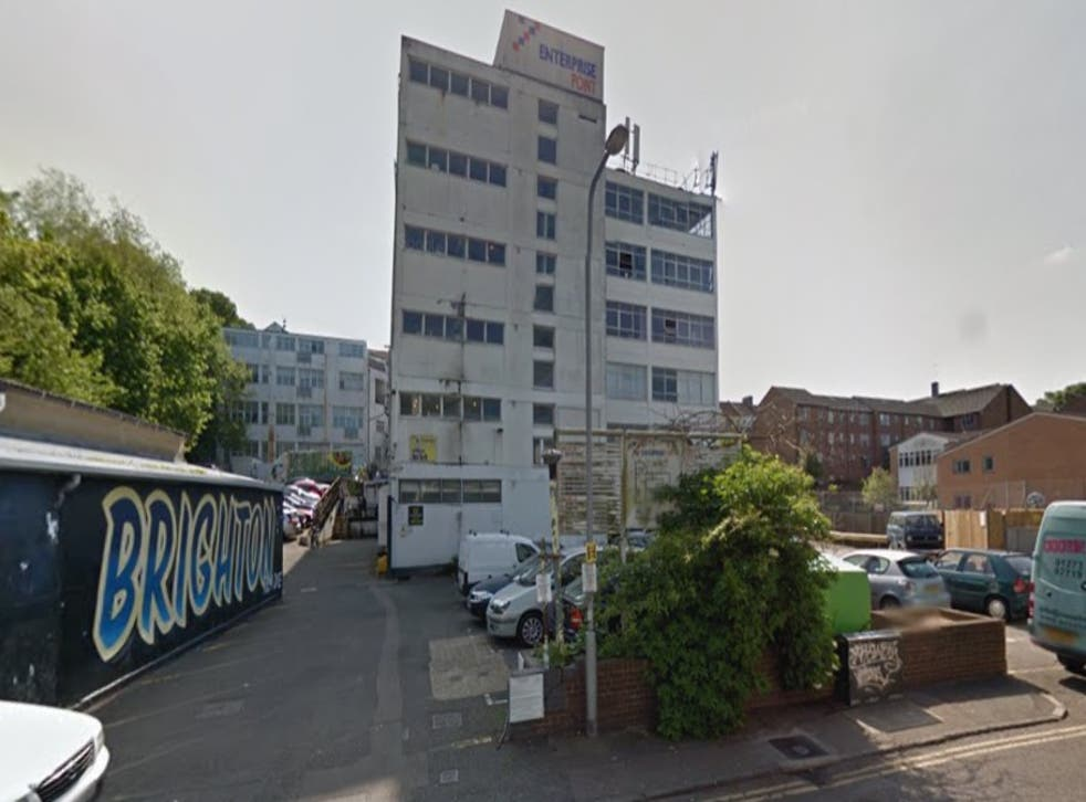 Building, pictured, will 'most likely make way for apartments and green space', says college