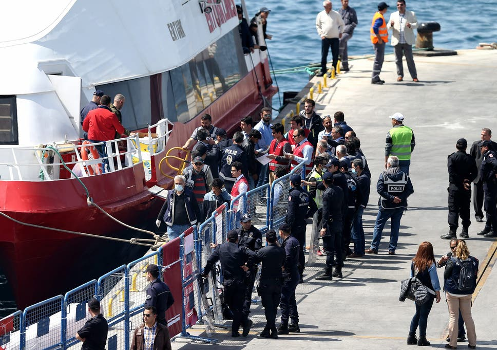 The reckless return of migrants to Turkey is a dangerous
