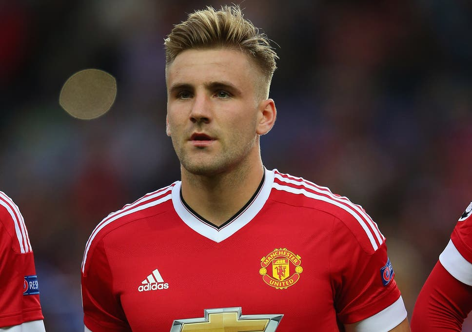 adccee32b Luke Shaw  Manchester United left-back returns to training following  horrific double leg break