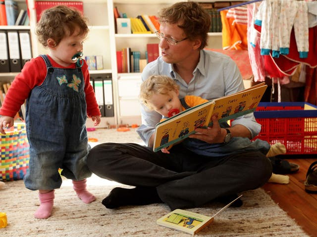 Employers are penalising fathers for working part-time or flexibly to share childcare responsibilities
